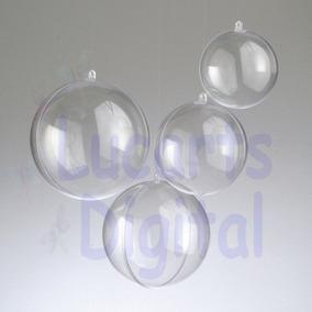 70 Esfera Bola Acrílico 6,5 Cm * Natal - Lembrancinha *
