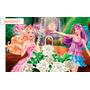 Painel Barbie Tela Lona Festa Aniversário Decoração 150x100