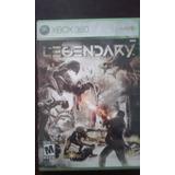 Juego Xbox 360 Legendary