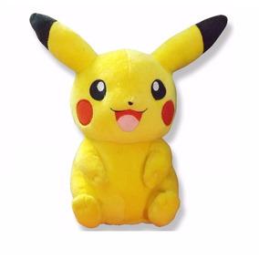 Pelúcia Pokemon Pikachu Musical 20cm E Balão Pokemon Pikachu
