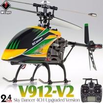 Helicóptero Wltoys V912 Brushless Version 4-ch 2.4ghz Rtf