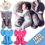 Bebê Travesseiro Elefante Almofada Pelúcia Enxoval Brinquedo
