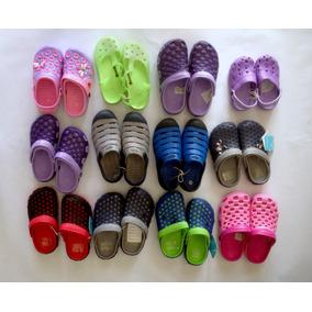 Cholas Sandalias Tipo Crocs (al Mayor) Para Niños