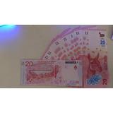 Billete 20 Pesos Argentina Guanaco Sin Circular + Númer Bajo
