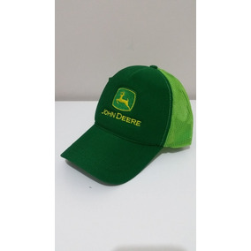 Boné Jonh Deere Verde Ou Preto