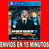 Payday 2 Crimewave Edition Ps4 Digital Oferta Unica G12 |2|