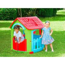 Casinha Infantil Casa De Criança Bebe Montar Barraca Cabana