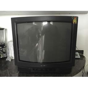 Televisor Sony Tv Trinitron Caja