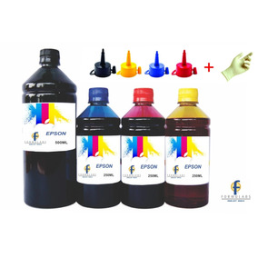 1250ml Refil Tinta Para Impressora T25 Tx133 Tx135