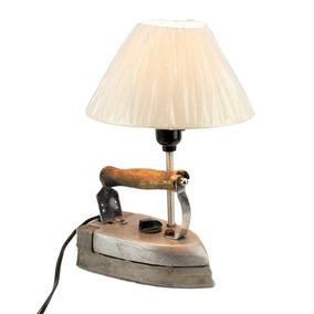 Lámpara Vintage Plancha Antigua