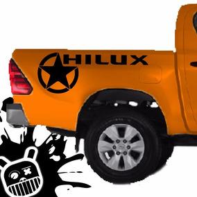 Calco Decorativa Lateral Platoon 2 Para Toyota Hilux! M
