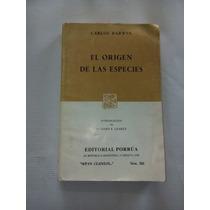 Libro El Origen De Las Especies Carlos Darwin