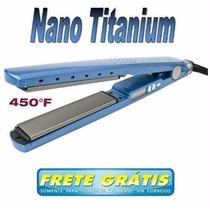 Promoção Chapinha Prancha Profissional Ceramic Nano Titanium