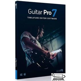 Guitar Pro7 Win+ Ativação +soundbank V: 7.0.8 +60mil Tabl