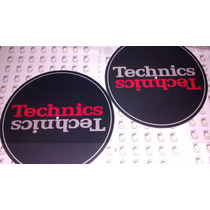 Slipmat Paño Para Bandeja Giradiscos Technics Rojo