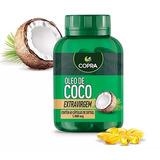 Óleo De Coco Extra Virgem Copra - 60 Cápsulas - 1000mg
