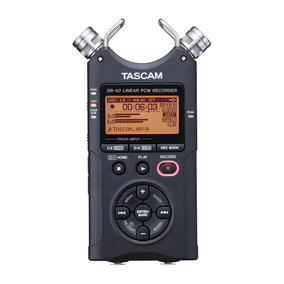 Grabadora Digital Portátil Tascam Dr40 1año Garantía Oficial