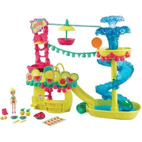 Polly Parque Aquático Abacaxis Mattel