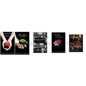 Livro Crepúsculo - Kit 4 Livros - Novos