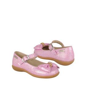 Stylo Zapatos Niños Piso Niña 9008 15-17 Simipiel Lila