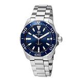 Tag Heuer Aquaracer Esfera Azul Y Reloj Para Hombre Way111