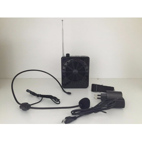 Kit Amplificador Megafone Microfone Professor Aula Palestra7