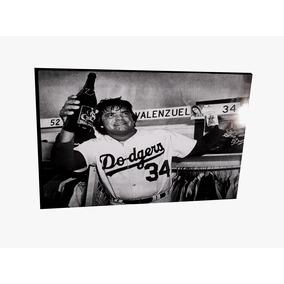 Cuadro Beisbol Fernando Valenzuela Dodgers Envio Gratis Dhl