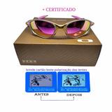 Óculos Oakley Double Xx 24k Rosa + Certificado +teste +lente d9ad55cfb5