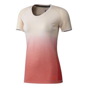 Remera adidas Running Primeknit Wool W Mujer Be/sa