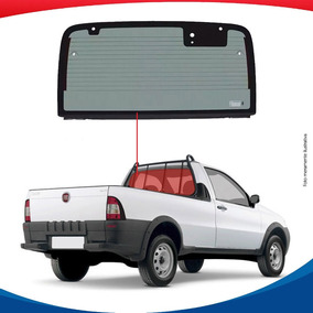 Vigia Inteiriço Fiat Strada 99/13 Vidro Traseiro