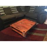 Mesas Rusticas De Palet A Solo $40.000