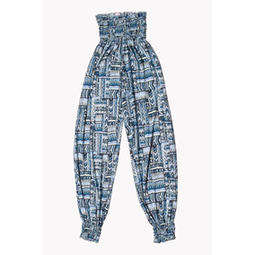 Pantalones Damas Estampado Corte Tubito