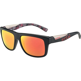 125b9c54a0 Bolle Clint Gafas De Sol, Matte Black / Red Plaid Tns Fire
