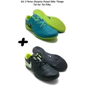 Chuteira Pai E Filho Mizuno Society Nike - Chuteiras no Mercado ... 0abba211b87b2