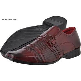 d74364b48c Sapato Social Masculino Verniz Diplomata - Sapatos Bordô no Mercado ...