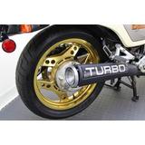 Rines Originales De Honda Cx500 Turbo Dorados