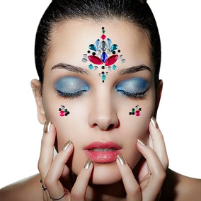 Plantilla Joya Catrina Makeup Cara Tatoo Autoadherible