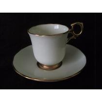 Taza De Café En Art Deco En Porcelana Inglesa