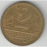 Numismática, Moeda 2 Cruzeiros 1945, Oferta