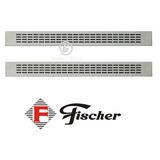 Grade Ventilação Forno Fischer | 2 Peças | 66,5cm | Original