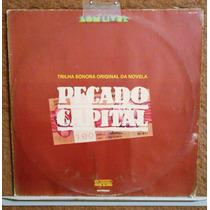 Vinil Lp Trilha Nacional Novela Pecado Capital 1975