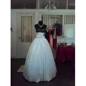 Vestido De 15 Años Con Falda Corta Y Larga Desmontable