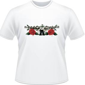 Camiseta Guns N Roses Axel Rose Slash Rock Banda Camisa 4