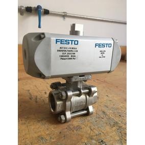 Festo Valvula Esfera 1 Con Actuador Neumat Drd4f04-vapb1cr