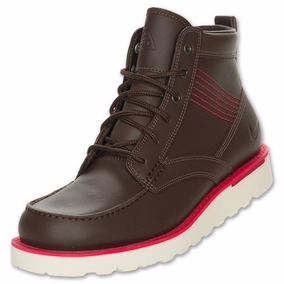 Nike Botas Caminata Air Acg Kingman Piel Piel Cafe Marron