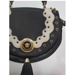 e4eeb57c13e Bolsa Gianni Versace Branca Veja - Calçados