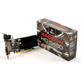 Placa Video Xfx Amd Radeon Hd5450 1gb Ddr3 Vga Dvi Hdmi