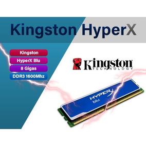 Memoria Kingston Hyperx Blu Ddr3, Pc3-12800 (1600mhz) 8gb