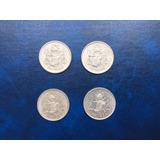Monedas De Plata 25 C 1950-53 Colección Envío Gratis