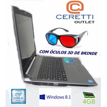Notebook Sim+3d Positivo 6475m Core I5 +4gb +hd750gb Outlet